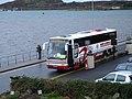 Coach loading at Corran Esplanade, Oban - geograph.org.uk - 2335773.jpg