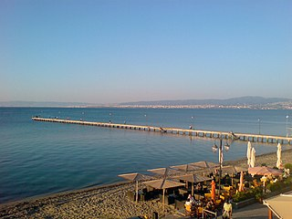 Thermaic Gulf A gulf in the northwest corner of theAegean sea