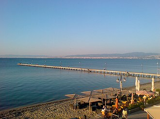 Thessaloniki (regional unit) - View of Thermaic Gulf from Peraia.