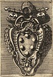 Coat of arms of Pius IV by Filippo Juvarra (1711).jpg