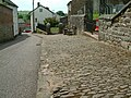 Cobbled pavement, Sandford, Devon - geograph.org.uk - 448261.jpg