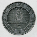Coin BE 5c Leopold II lion rev NL 32a.png