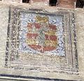 Colle, palazzo pretorio, int., salone (dimezzato, livello inferiore), stemma ricasoli.JPG