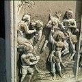 Collectie Nationaal Museum van Wereldculturen TM-20029804 Reliefs op graven op de oude Joodse begraafplaats Beth Haim Curacao Boy Lawson (Fotograaf).jpg