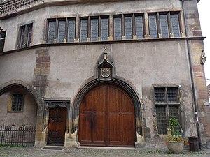 Ancienne Douane (Colmar) - Image: Colmar Koifhus (8)