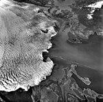 Columbia Glacier, Heather Island, Calving Terminus, June 27, 1975 (GLACIERS 1239).jpg