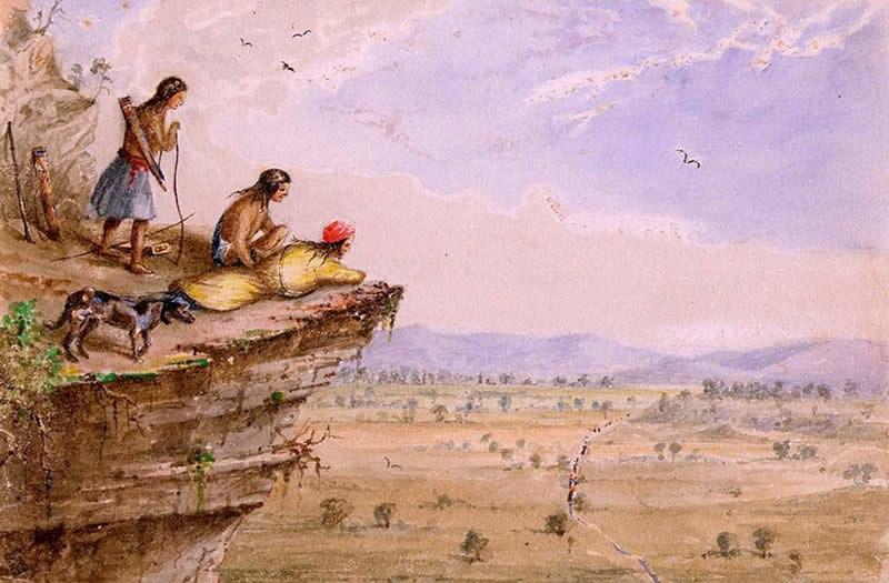 Comanche Lookout Arthur T. Lee