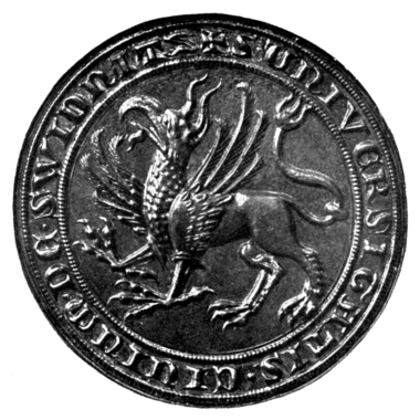 Fig. 422.—Seal of the Town of Schweidnitz.