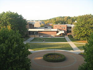 Concord University - Art Building and part of the Theatre on the left