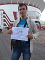 Congratulation of Erzyan Wikipedia with 10th anniversary from Saransk 1.jpg