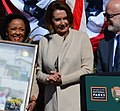 Congresswoman Pelosi helps unveil the new Visitors Center at the Presidio (33153945116) (cropped).jpg