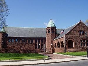 Converse Memorial Library - Image: Converse Memorial Library (Malden, MA) street view