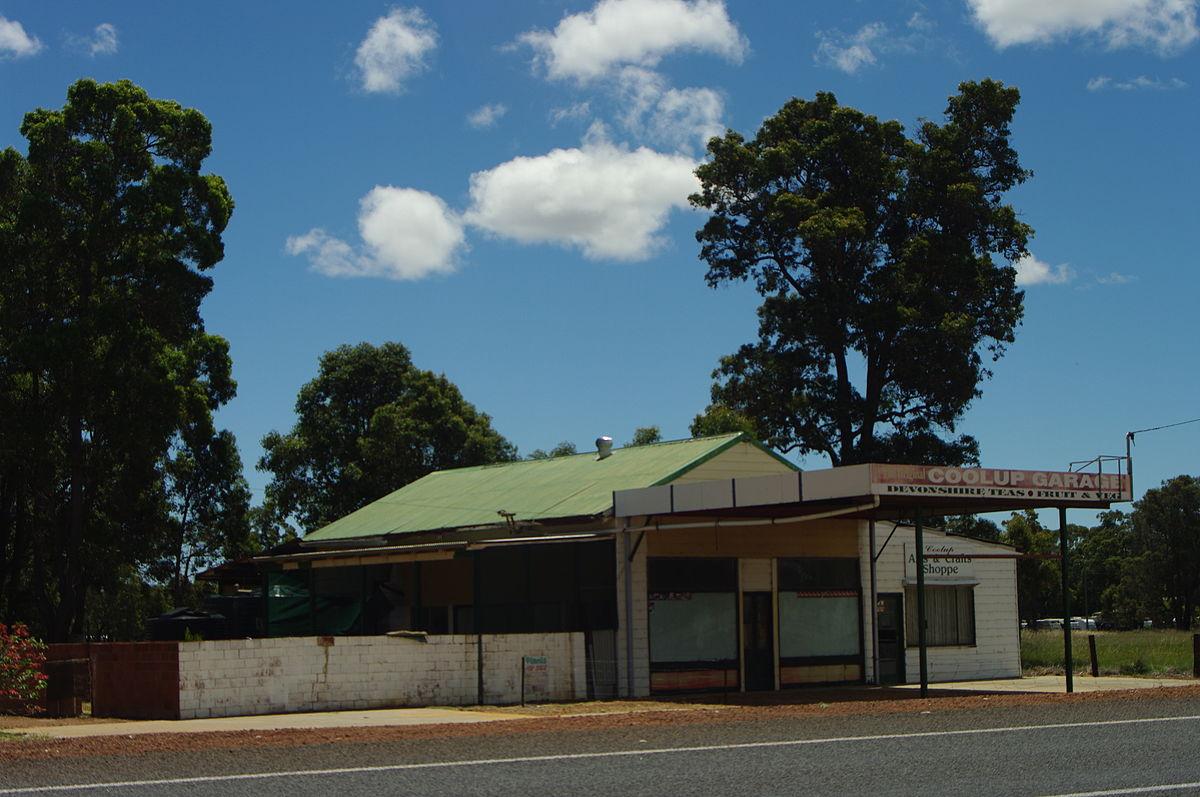 Coolup western australia wikipedia for Western garage