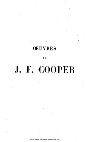 File:Cooper - Œuvres complètes, éd Gosselin, tome 30, 1854.djvu