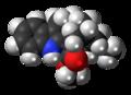Coronaridine molecule spacefill.png