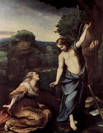 La Vie (painting) - Image: Correggio 056