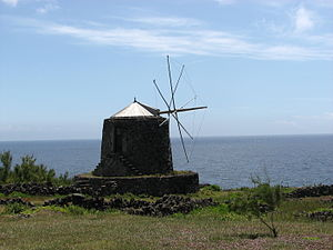 Vila do Corvo - Old windmill dating back to the 19th Century