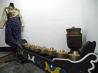 Soccsksargen - Kulintang exhibited in Old Cotabato City Hall Museum