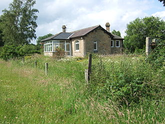 Cotherstone - Cotherstone railway station; disused and now a private residence