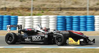 Alexandre Cougnaud - Cougnaud at Jerez driving for RP Motorsport, his first podium of the 2013 season (F3).