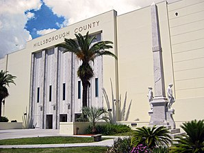 Hillsborough County Courthouse und Confederate Memorial in Tampa