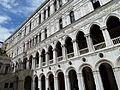 Courtyard of the Doge's Palace (Venice) - Inner wall.JPG