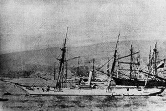 Spanish schooner Virgen de Covadonga - Image: Covadonga Ship
