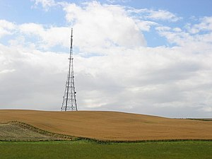 Craigkelly transmitting station - Image: Craigkelly TV Tower