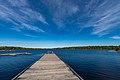 Crane Lake, Boat Dock, Minnesota (37419306836).jpg
