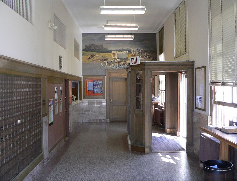 Description crawford nebraska post office interior 1 jpg