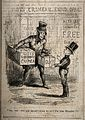 Crimean War, England; caricature possibly a play on class an Wellcome V0015388.jpg