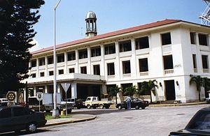 Cristóbal, Colón - Cristóbal's Administration Building, July 1997