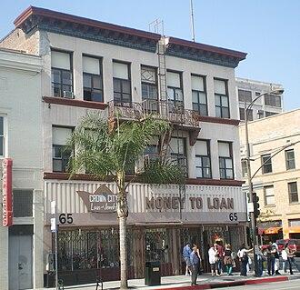 Greene and Greene - Image: Crown City Loan & Jewelry, Pasadena
