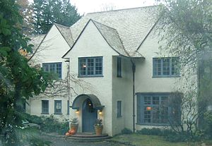 Maurice E. Crumpacker - The Maurice Crumpacker House in Portland's Dunthorpe neighborhood