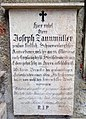 Crypt 54 (Petersfriedhof Salzburg) NW wall - Monument 05.jpg