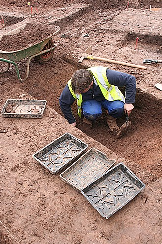 Cullompton - Excavations on site near Shortlands lane