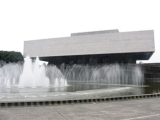 Leandro Locsin - The Tanghalang Pambansa of the Cultural Center of the Philippines, one of Locsin's most recognizable works.