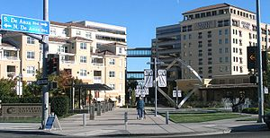 Cupertino, California - City center in 2005.