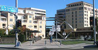 Cupertino, California - City center in 2005.