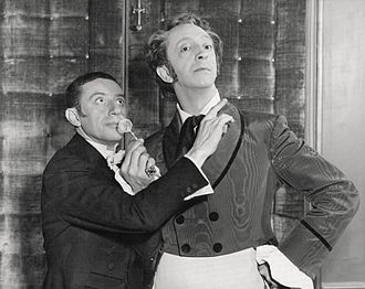 "The Woman in White (1948 film) - ""An extremely amusing and well characterized  study comes from John Abbott (right) as the eccentric and mentally unbalanced Fairlie"", noted Picturegoer magazine"