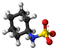 Cyclamic acid zwitterion 3D ball.png