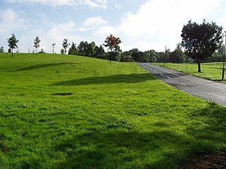Craigavon - One of the many cycle paths in Craigavon