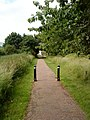 Cyclepath from Thane Road to Beeston Canal - geograph.org.uk - 1911750.jpg