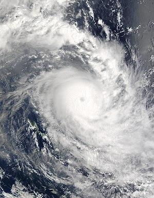 Cyclone Zoe - Cyclone Zoe near Vanuatu on December 29