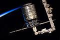 Cygnus 1 grappled by Canadarm2 (a).jpg