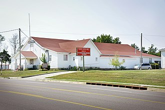 National Register of Historic Places listings in Canadian County, Oklahoma - Image: Czech Hall Bohemian Hall, Yukon, OK