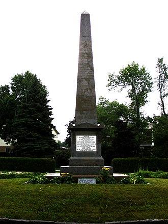 Benjamin D'Urban - D'Urban's grave, at the National Field of Honour.
