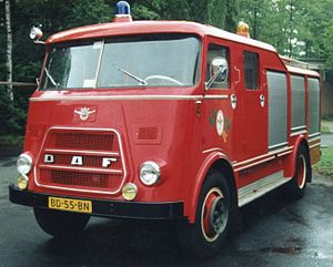 DAF Trucks - DAF fire truck