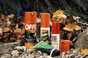 DEET is available in many insect repellents