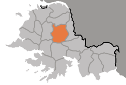 Location of Sinchon County